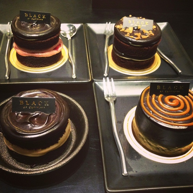 【BLACK AS Chocolate】迷你巧克力蛋糕 @凱的日本食尚日記
