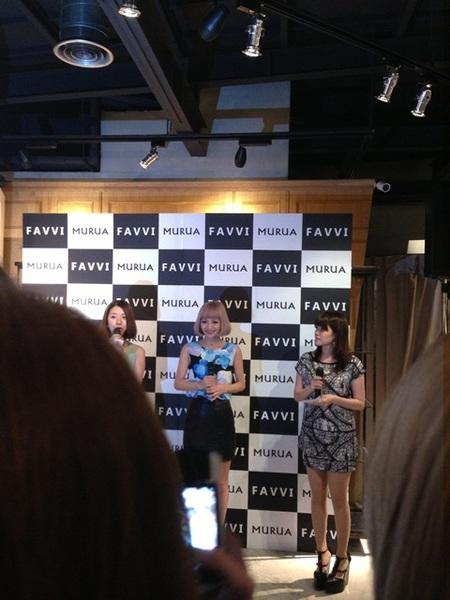【活動】MURUA時尚教主。荻原桃子FAVVI見面會 @凱的日本食尚日記