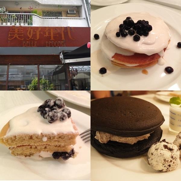 【美好年代】珍珠奶茶鬆餅好美味 @凱的日本食尚日記