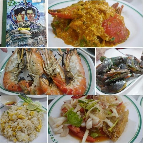 【曼谷】T&K seafood。平價又美味的海鮮大餐 @凱的日本食尚日記