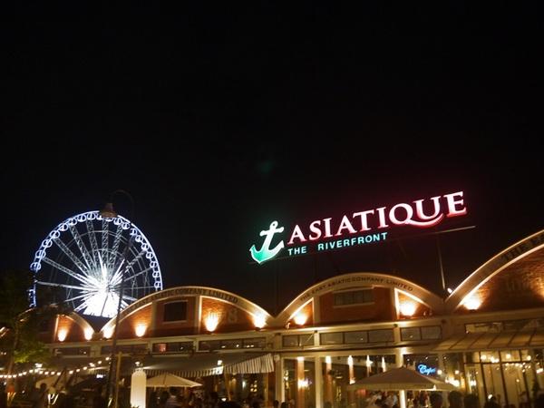【曼谷】美麗又整潔的ASIATIQUE碼頭夜市 @凱的日本食尚日記