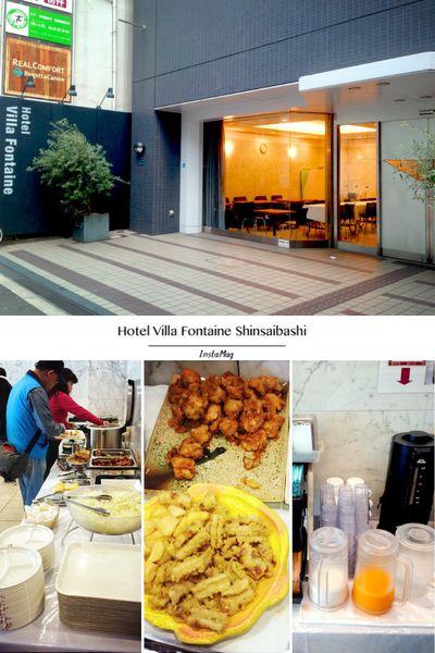 【2014京阪賞櫻】離心齋橋好近逛街好方便的飯店。Hotel Villa Fontaine Shinsaibashi @凱的日本食尚日記