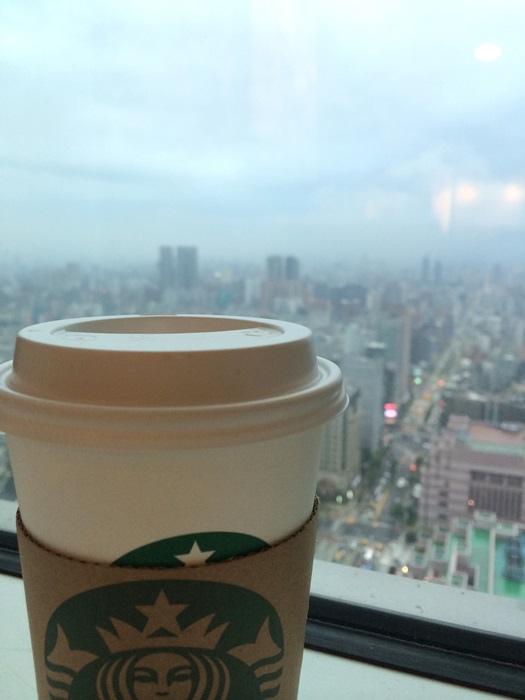 【美味關係】101的超好View。35樓星巴克喝咖啡 @凱的日本食尚日記