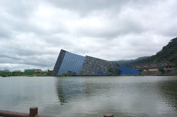 【2014宜蘭3天2夜】臨水而居的蘭陽博物館。30分鐘逛完之超迷你短文 @凱的日本食尚日記
