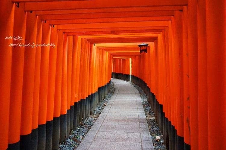 【2014大阪過聖誕】京都伏見稻荷大社。漫步在藝伎回憶錄的紅色千本鳥居 @凱的日本食尚日記