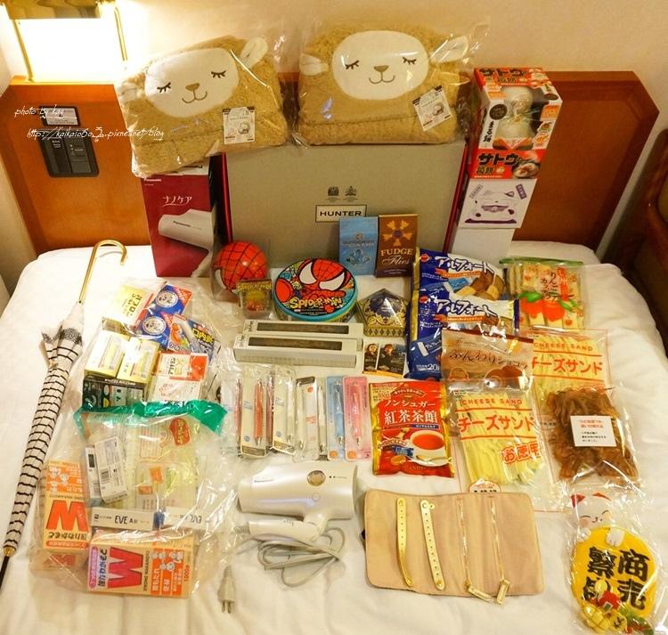 【2014大阪過聖誕】重質不重量!好險哪差點超重的伴手禮戰利品分享 @凱的日本食尚日記