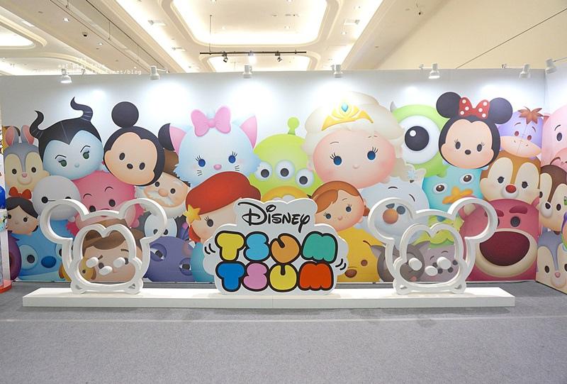 【展覽】Tsum Tsum玩轉派對 跟你最愛的迪士尼人物一起來開趴 (免費入場) @凱的日本食尚日記
