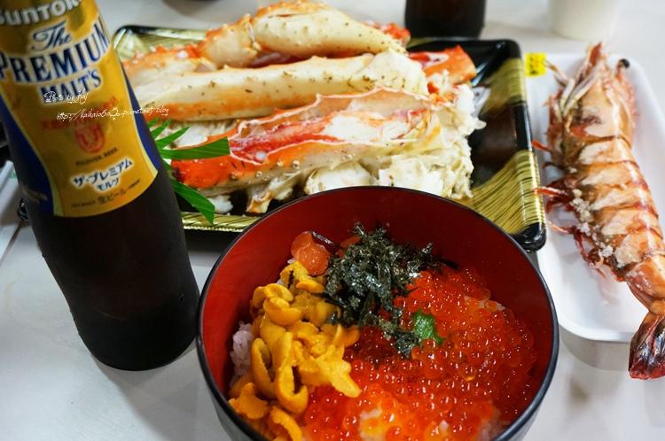 【11月京阪神賞楓趣】大阪的廚房:黑門市場。大嗑海鮮必吃黑門三平啦~~ @凱的日本食尚日記