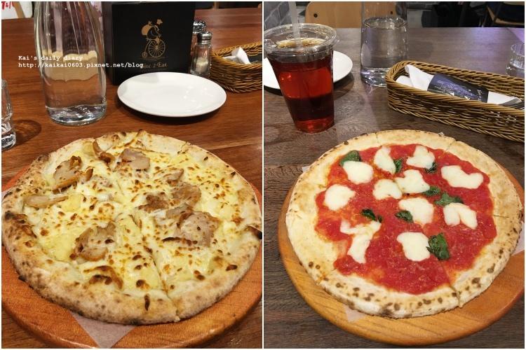 【美味關係】N訪愛店:薄多義。舊愛『洋薯腿排披薩』vs 新歡『瑪格麗特披薩』 @凱的日本食尚日記