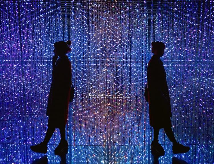 【展覽 / 華山】華麗又炫目的『 TeamLab: 舞動!藝術展 & 學習!未來の遊園地 』特展 @凱的日本食尚日記