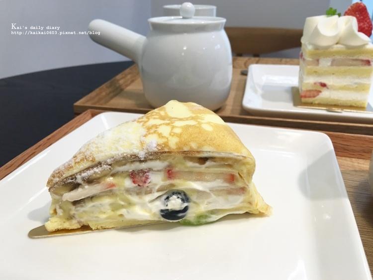 【台北 / 忠孝復興】找到最像HARBS的水果千層蛋糕!仁愛路巷內的人氣小店:折田菓舖 @凱的日本食尚日記