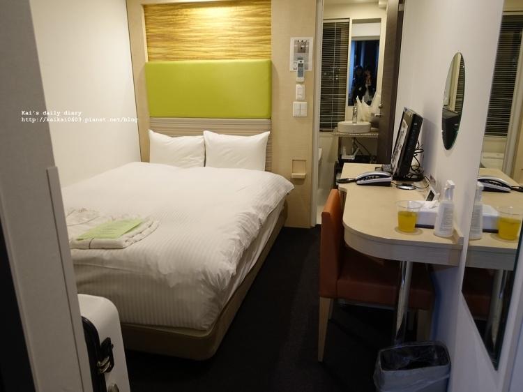 【✈2017。東京】Tokyo Ueno hotel 東京上野飯店實住心得。價格平實、交通小不便 @凱的日本食尚日記
