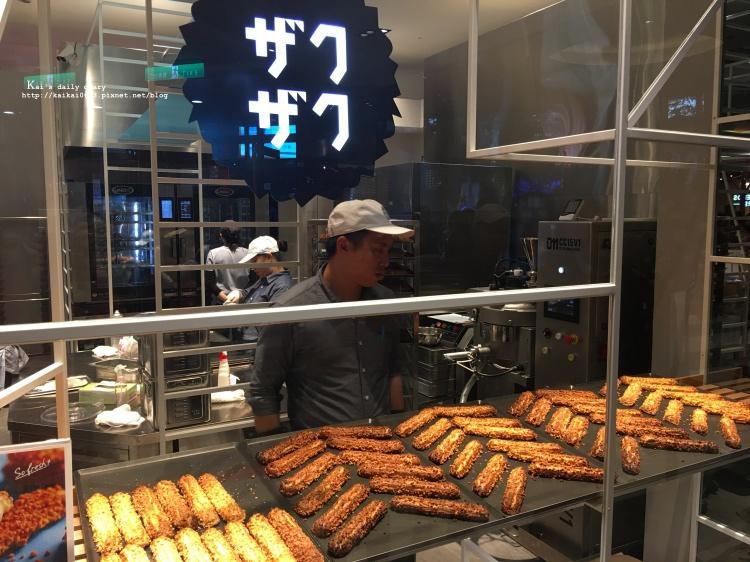 【台北 / 信義A11】台灣也吃得到日本的排隊美食:ZAKUZAKU 棒棒泡芙。愛評體驗團 @凱的日本食尚日記