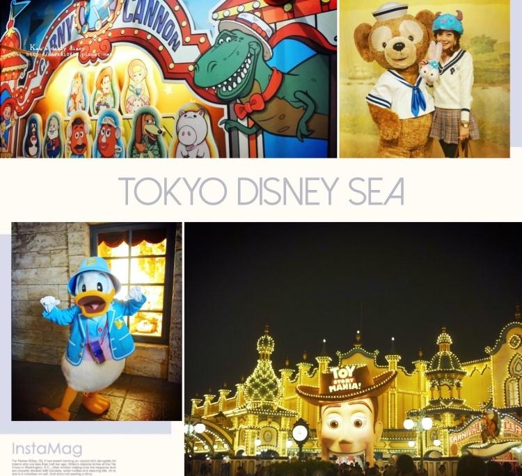 【✈2017。東京】下雨天的東京海洋迪士尼攻略。Tokyo Disney Sea @凱的日本食尚日記