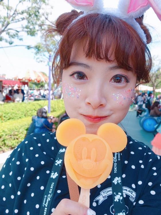 ☆【彩妝】迪士尼穿搭的亮晶晶小心機。超簡單亮片腮紅教學 @凱的日本食尚日記