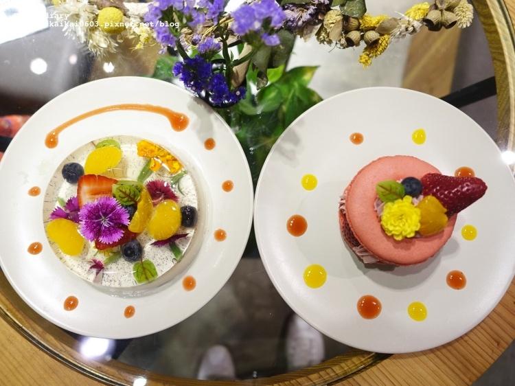 【台北 / 市政府】FUJI FLOWER CAFE。花花世界下午茶 @凱的日本食尚日記