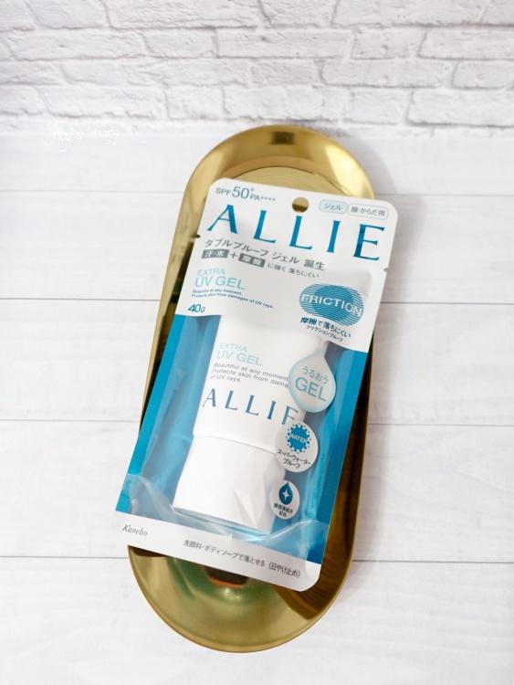 【防曬】日本口碑系防曬。佳麗寶ALLIE EX UV高效防曬水凝乳 SPF50+ PA++++ @凱的日本食尚日記
