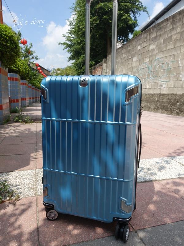 ☆【行李箱】departure旅行趣 27吋小藍煞車箱。新歡還是最美 ♥︎ @凱的日本食尚日記