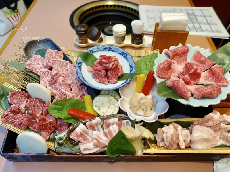 ☆【2018大阪】滿腹市場・河豚安。不用揪結!燒肉、壽司一起吃到飽 @凱的日本食尚日記