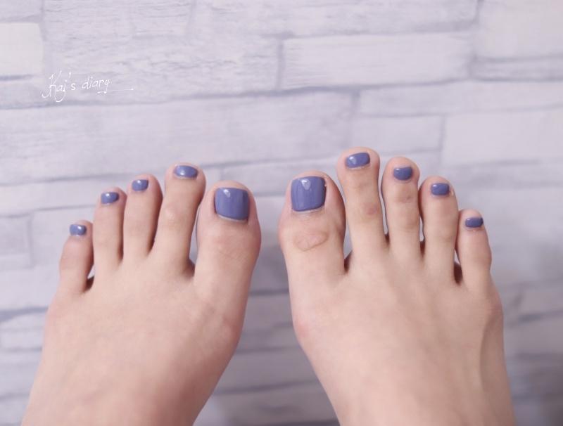 即時熱門文章:☆【保養】西門町Color108美甲美睫 足部深層保養+莫蘭迪藍色單色凝膠
