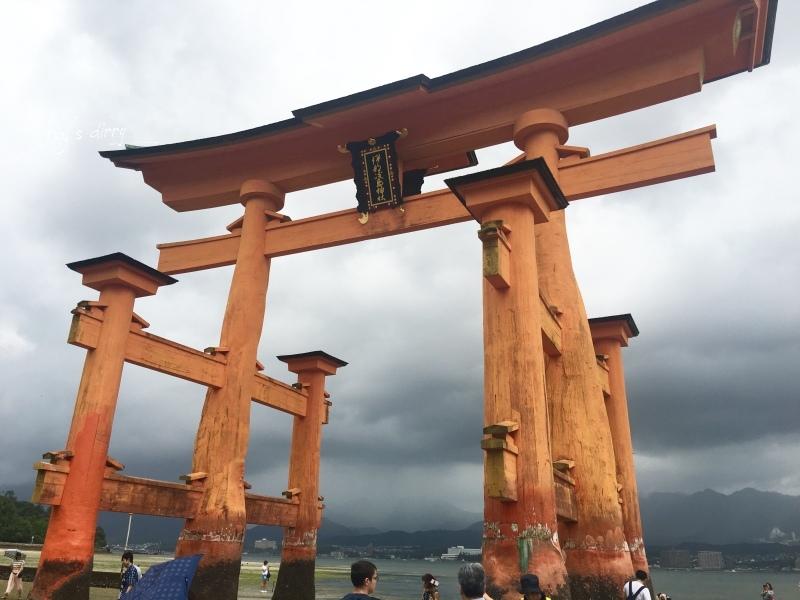 ☆【2018廣島】燕子颱風小插曲。宮島嚴島神社海上鳥居半日遊 @凱的日本食尚日記