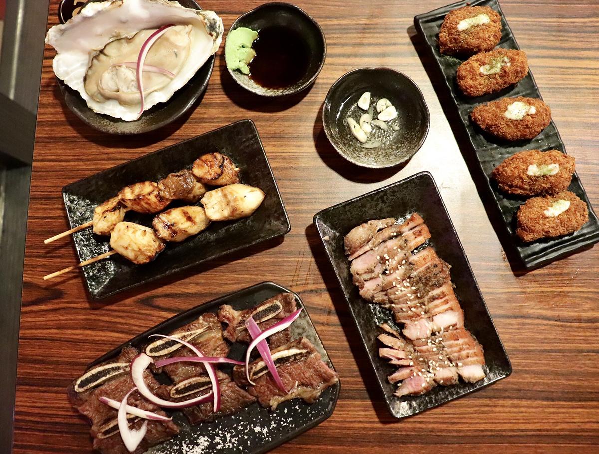 ☆【桃園 / 平鎮】日式武士燒烤。CP值超高的平價美食 @凱的日本食尚日記