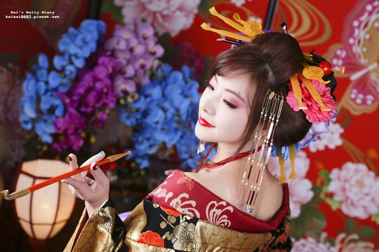 ☆【2019更新】來京都變身惡女花魁吧!!羽ごろも屋 花魁體驗心得Q&A @凱的日本食尚日記