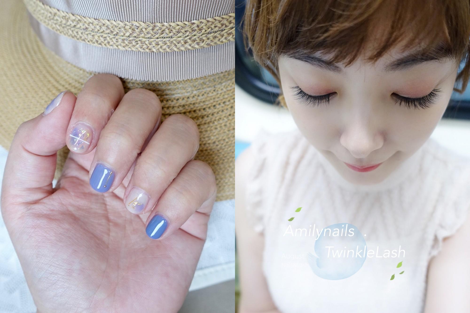 延伸閱讀:☆【美甲+美睫】8月的藍紫色雲彩渲染指甲+日式單根接到滿美睫