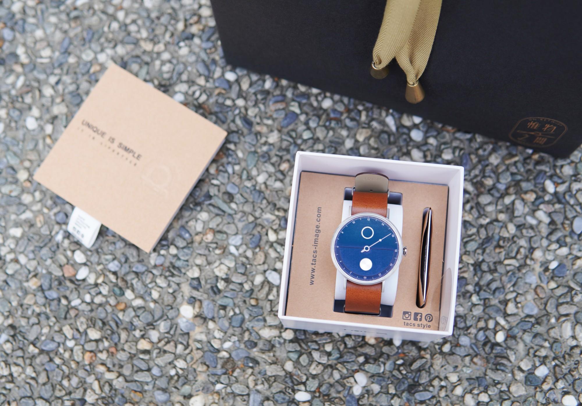 ☆【精品】TACS 晝與夜DAY & NIGHT-日暮藍。設計師手錶開箱 @凱的日本食尚日記