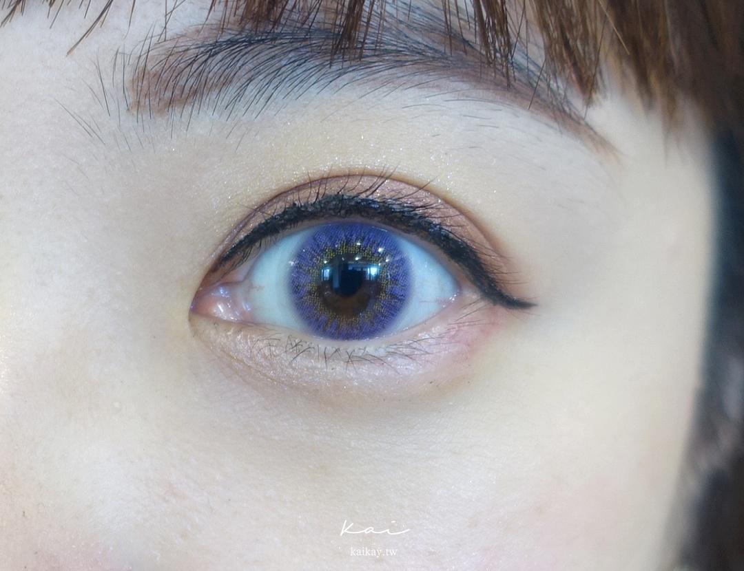 ☆【隱眼】OPT 圓瑞 LENS TOWN 日拋 丹妮紫。迷濛的紫色隱形眼鏡