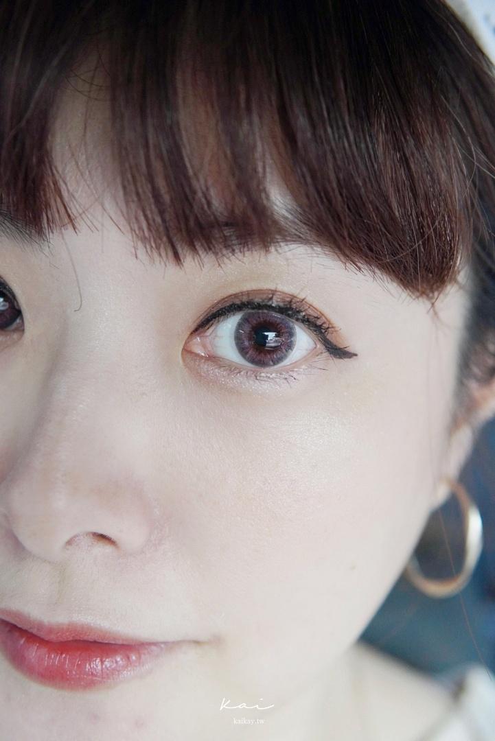 ☆【隱眼】昆凌 QUINLIVAN小直徑彩色日拋- 花神粉 開箱 實戴