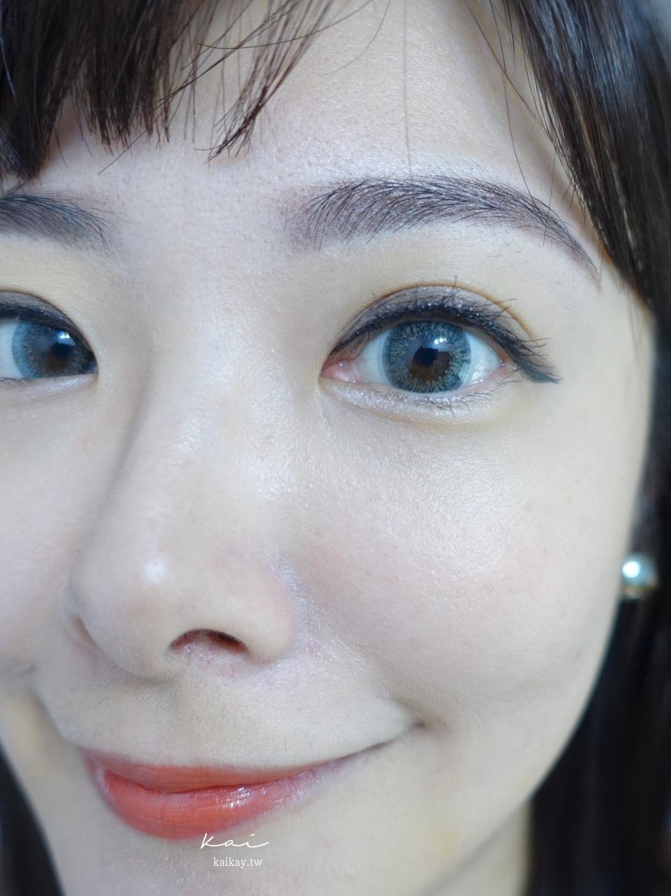 ☆【隱眼】星歐彩色日拋隱形眼鏡:Lazy Cat藍 開箱(康是美限定!)