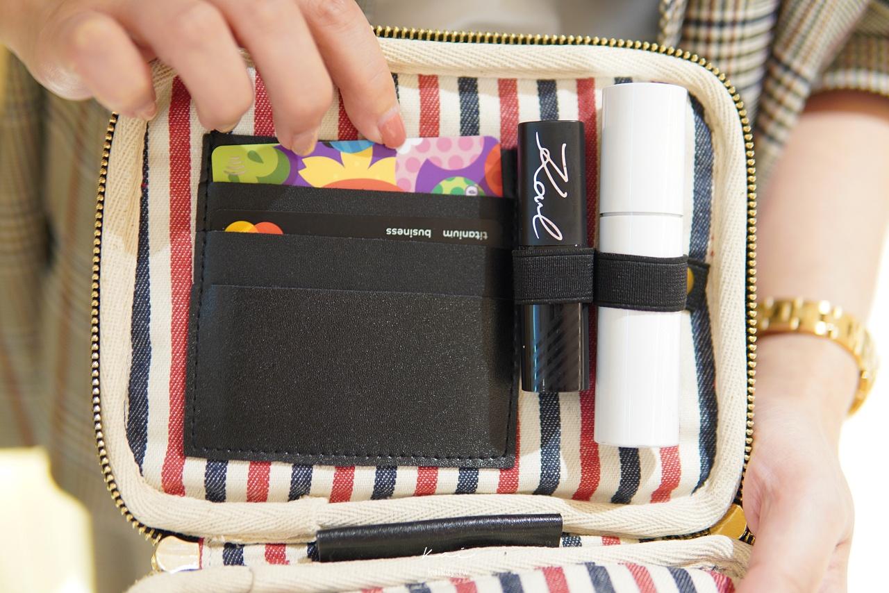 ☆【旅行小物】把收納變得浪漫又簡單!最時尚黑白旅行收納包 Bag-all