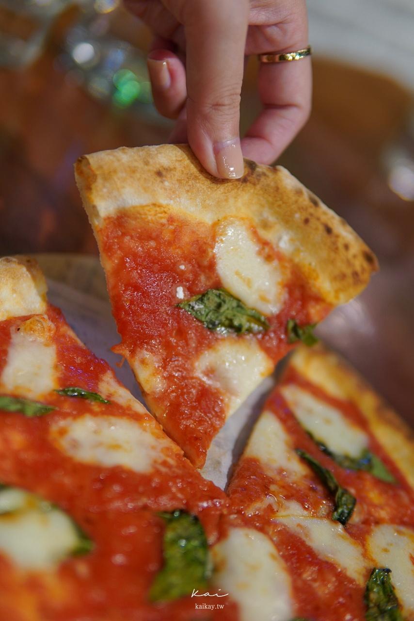 ☆【台北|市政府站】N訪愛店!信義區必吃義式美食:薄多義『洋薯腿排披薩』vs 『瑪格麗特披薩』