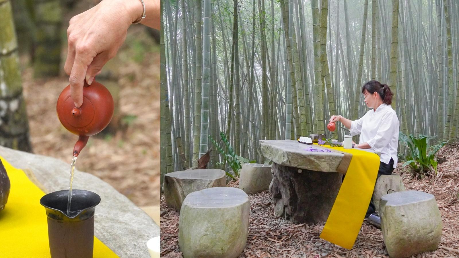 ☆【嘉義】竹林中的茶宴。綠色隧道|瑞里茶席體驗 @凱的日本食尚日記