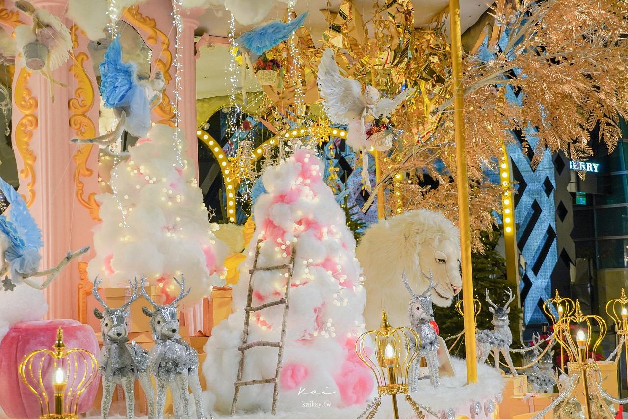 ☆【台北聖誕】Bellavita北歐玻璃屋、101粉色旋轉木馬。信義區最浪漫打卡景點攻略!