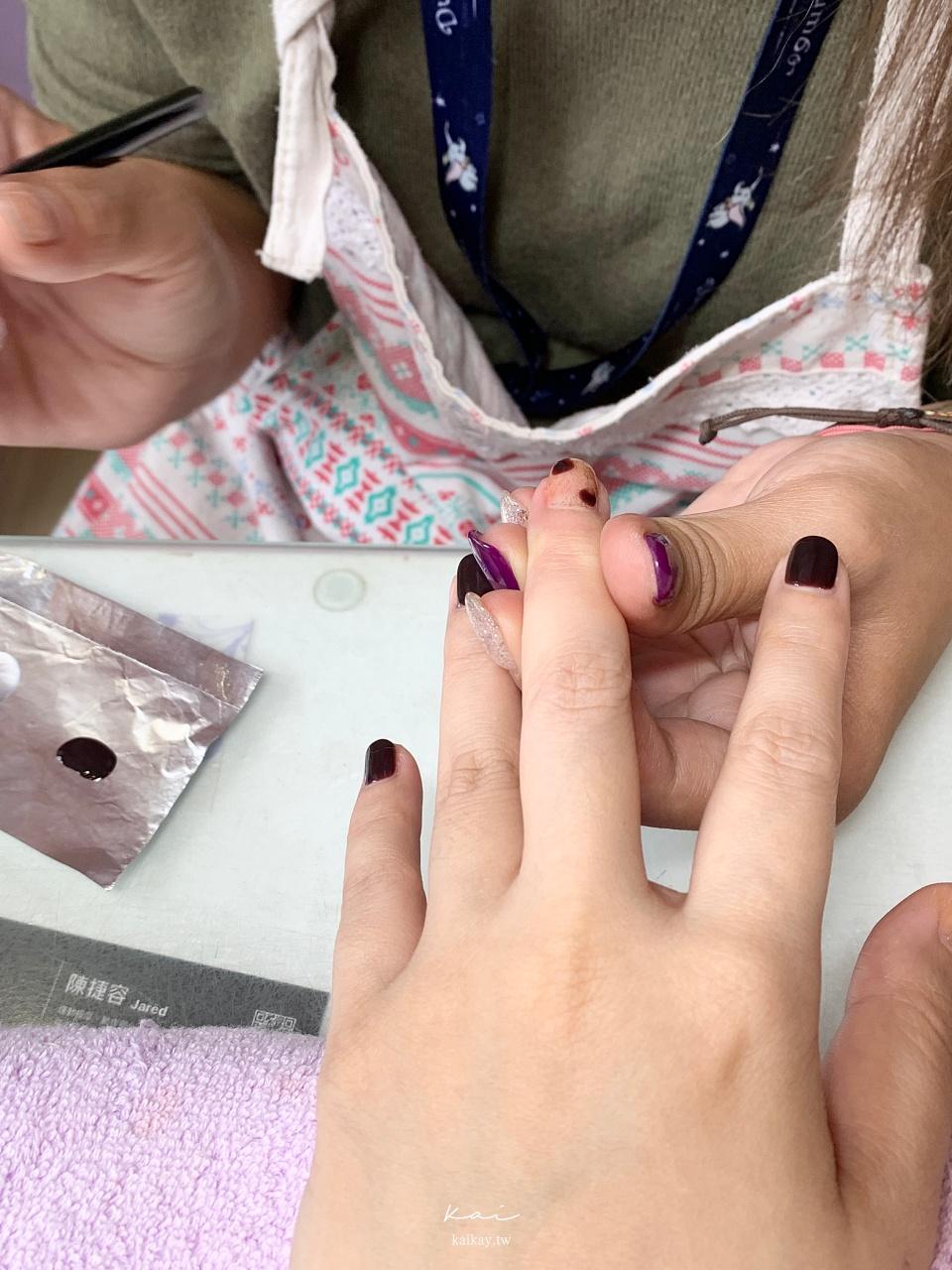 ☆【美甲】奢華系「巧克力琥珀暈染」美甲。Amilynails愛美麗11月活動款
