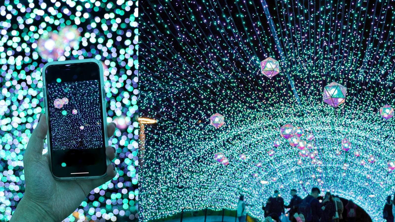 閱讀文章:☆【台北聖誕】中山站「冰藍燈海隧道」打卡熱點!心中山線性公園2020耶誕樹登場