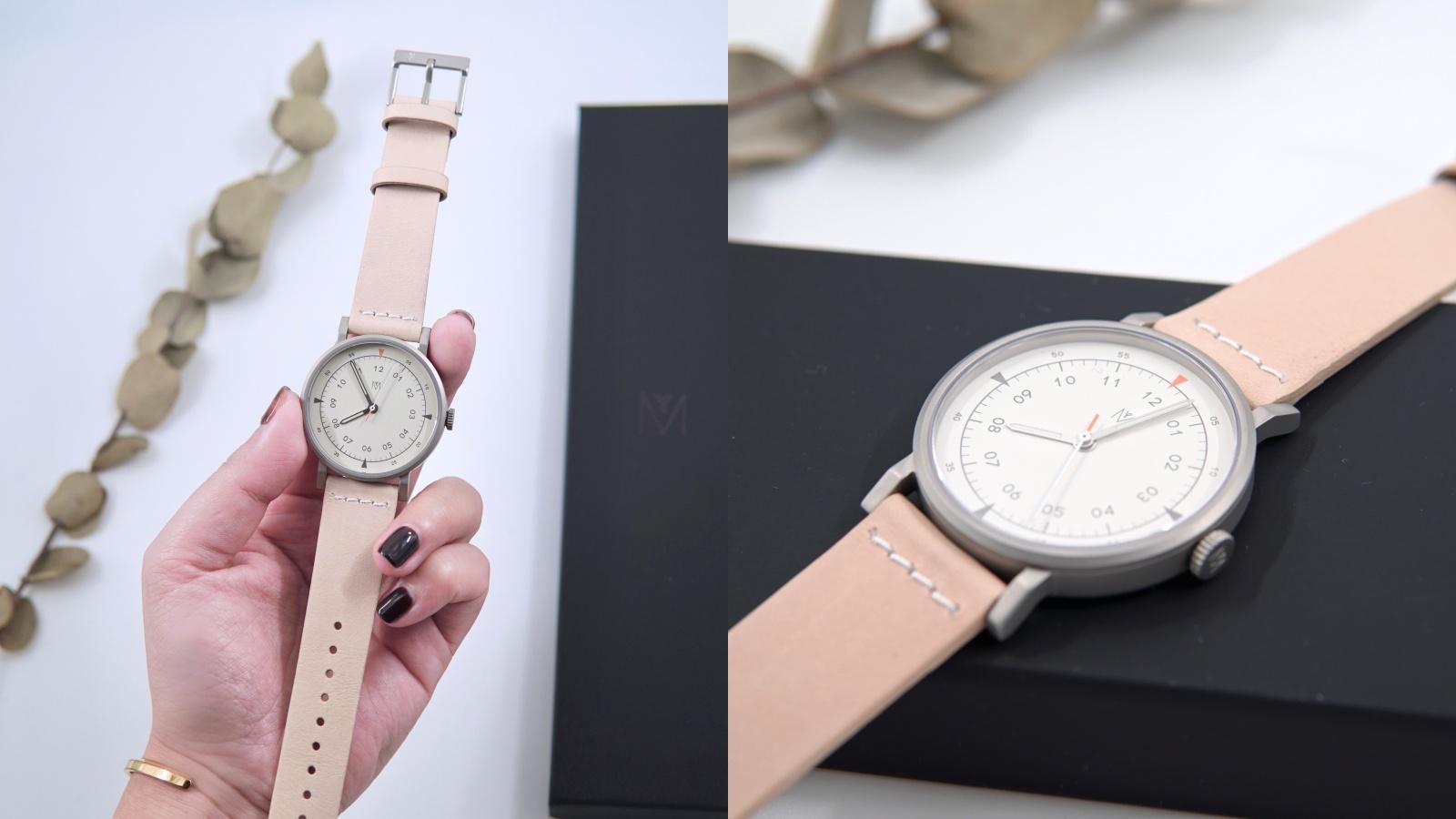 ☆【私服穿搭】大錶控的最新收藏。MAVEN 奶茶色真皮軍錶 The Urban Scout @凱的日本食尚日記