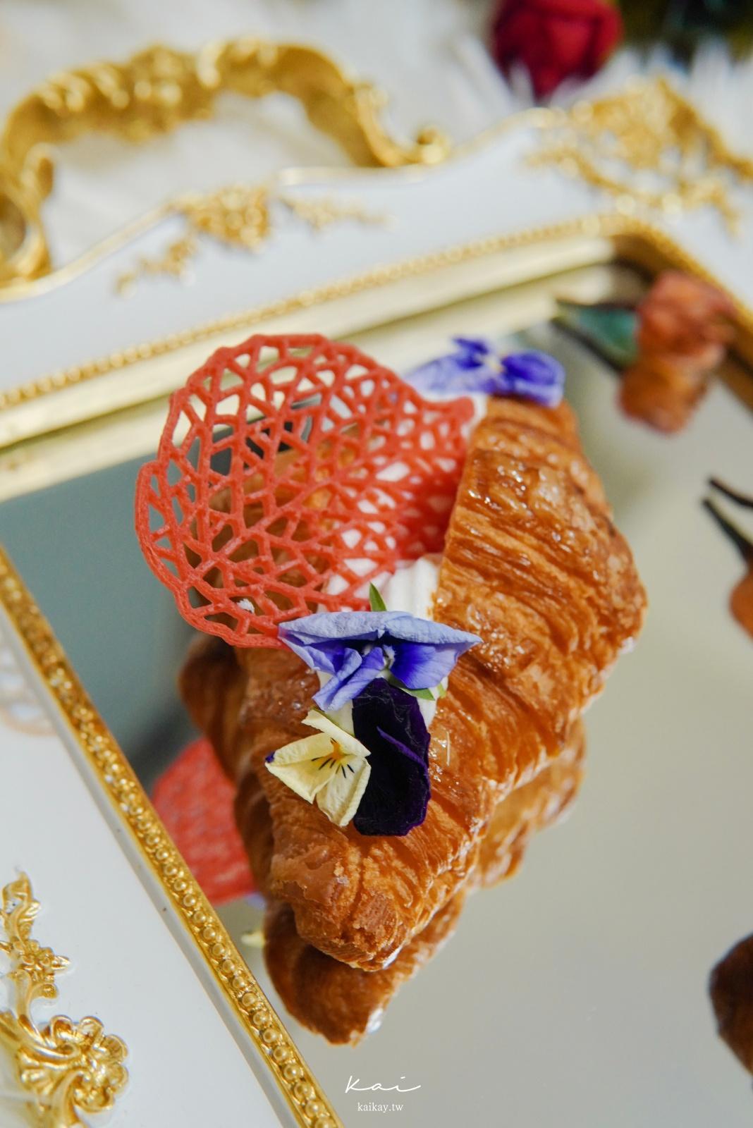 ☆【八月堂】超浮誇「花可頌」拍起來有蜷川実花FU!八月堂x日本花藝品牌Plantica聯名花可頌