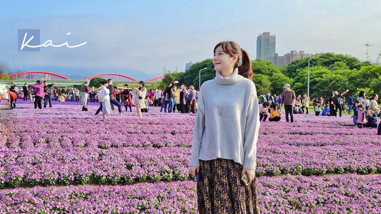 網站近期文章:☆【台北|公館】搭捷運賞花趣。古亭河濱公園夢幻紫色花海