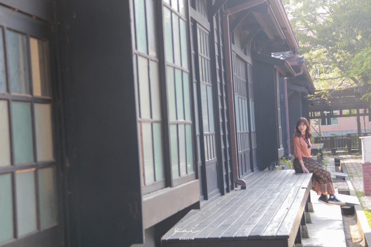 ☆【苗栗景點】一秒回到京都賞紫藤。山腳國小日治後期宿舍群歷史建築