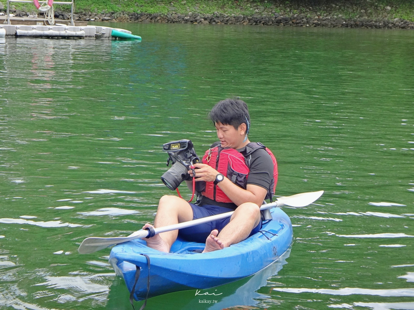 ☆【花蓮景點】鯉魚潭月彎舟獨木舟/SUP初體驗。怕水沒關係,8個Q&A看完你也是水上蛟龍