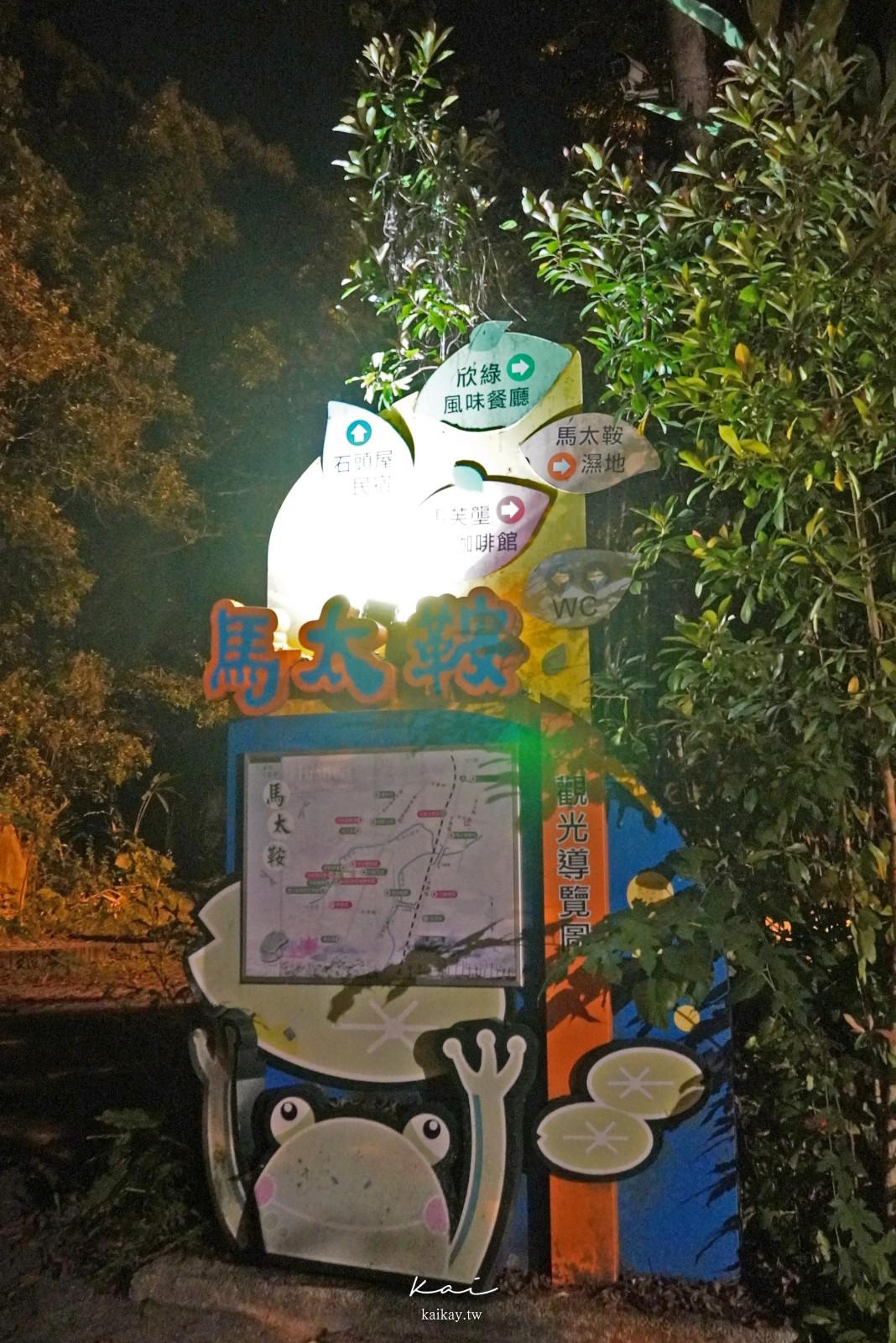☆【花蓮景點】馬太鞍濕地欣綠農園。沐浴在螢火蟲微光中的奇幻體驗
