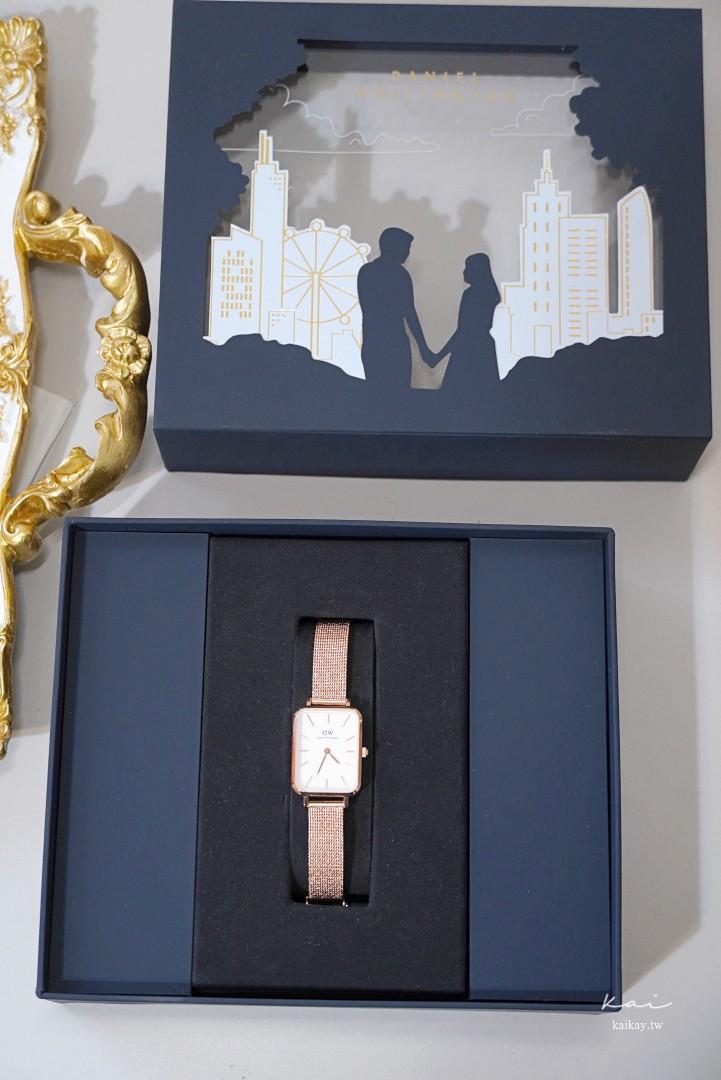 ☆【DW折扣碼】Daniel Wellington全新復古小方錶。2021折扣碼:kaikay