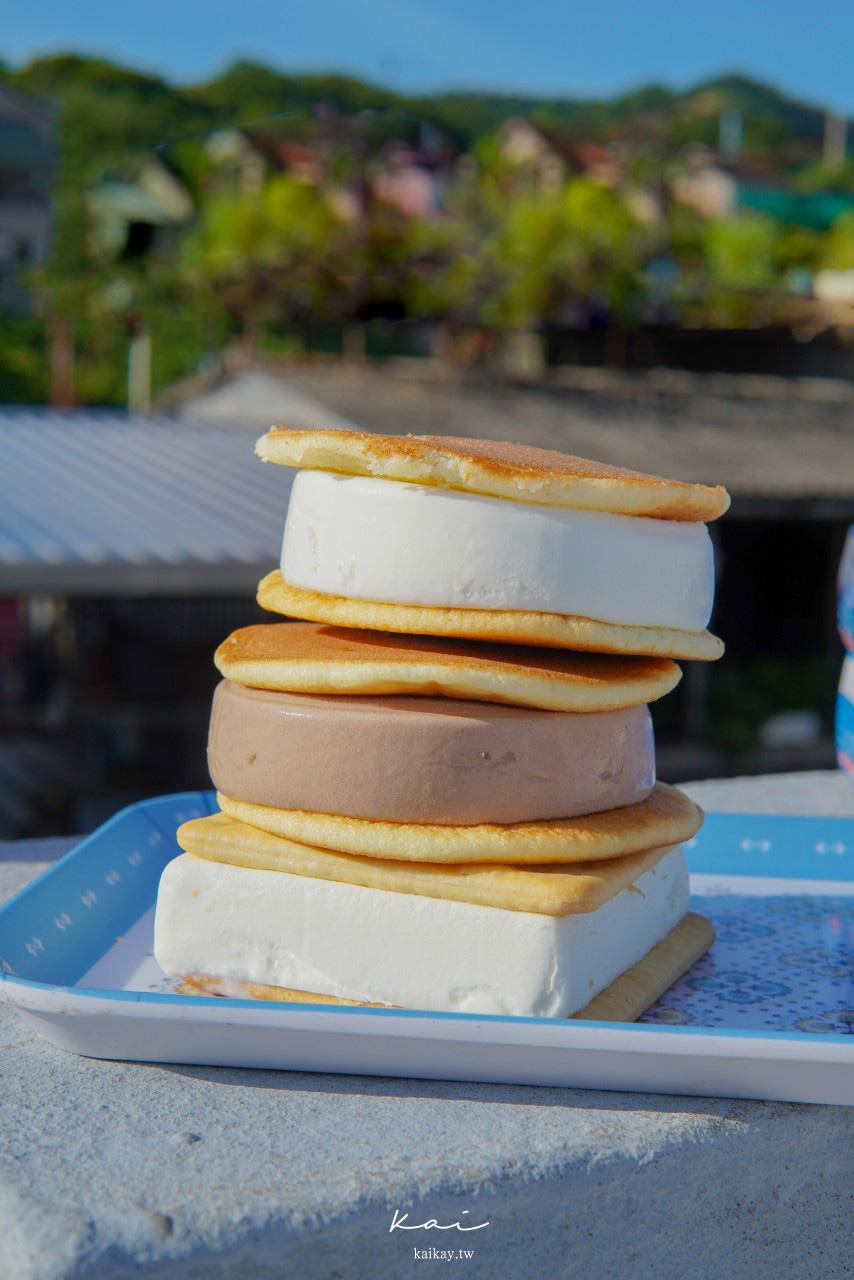 ☆【超商美食】義美「銅鑼燒冰淇淋」、「冰淇淋餅乾」。哆拉A夢的夏日天菜