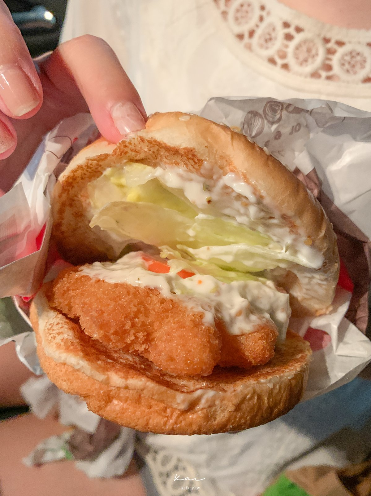 ☆【美食】漢堡王「Q彈海老堡」蝦堡開箱!漢堡王怎麼永遠都在優惠?