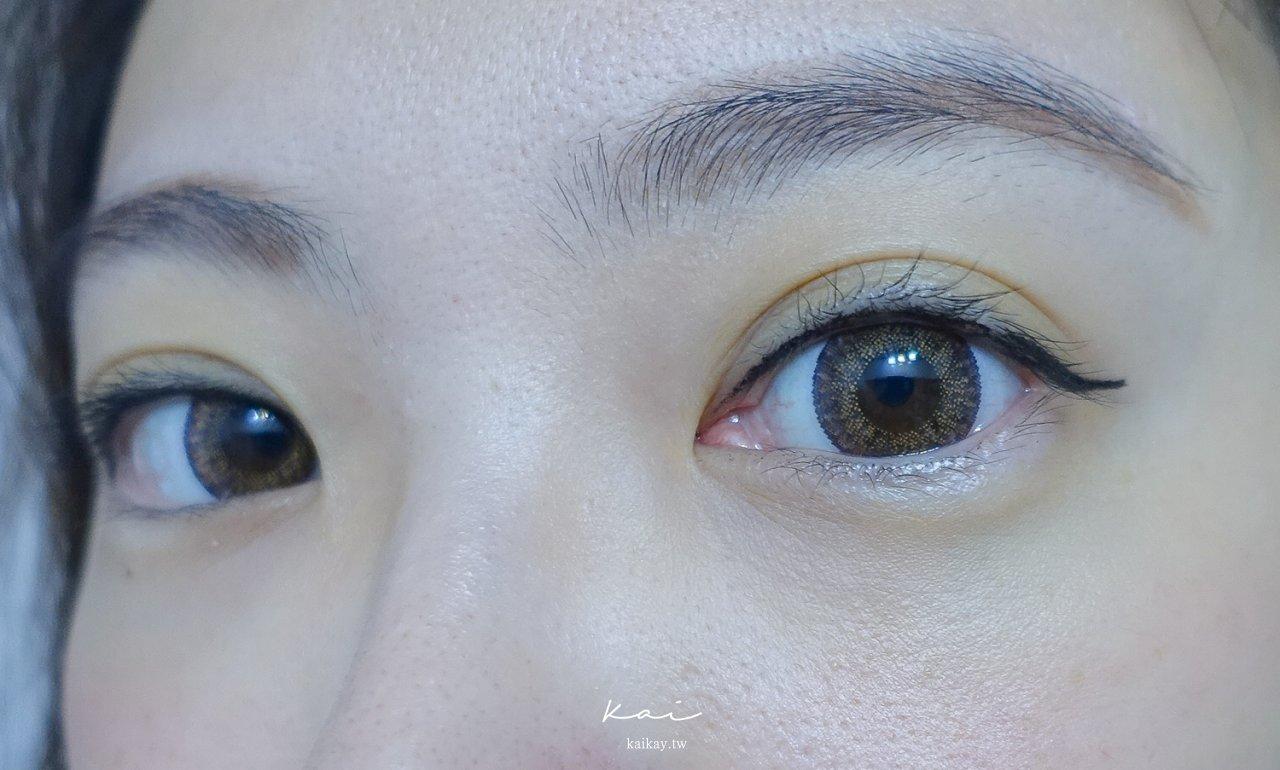 ☆【隱眼】清純可愛小鹿眼。海昌美目希日拋-歐風茶棕、歐風巧克開箱
