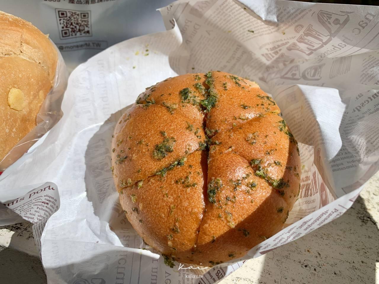 ☆【新北 林口】武藏野の手感麵包。新品:蒜香乳酪、黑糖麻糬吐司
